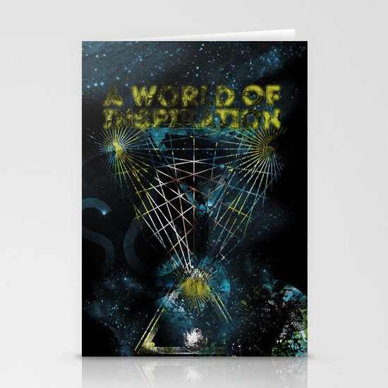 A World of Inspiration Stationery Cards