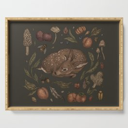 Foraging Fawn Serving Tray