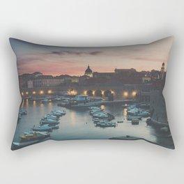 red sky at night ... Rectangular Pillow