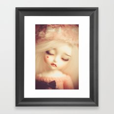 Invisible Tears Framed Art Print