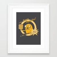 cooking Framed Art Prints featuring Cooking Time by Perdita