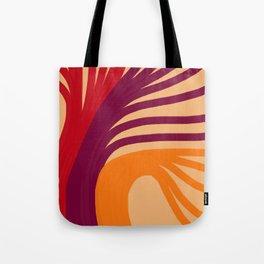Triplets - Light Peach Tote Bag