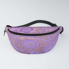 Wiiliam Morris revamped, art nouveau pattern Fanny Pack