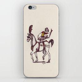 The Horseback Performer iPhone Skin