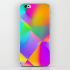 Expressionist Cubes iPhone Skin