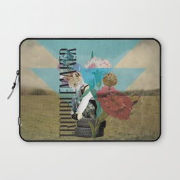 Unshackled, Troublemaker by Lendi Hader Laptop Sleeve