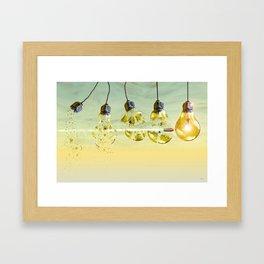 Peng ! Framed Art Print