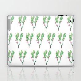 Blueberry Flowers Laptop & iPad Skin
