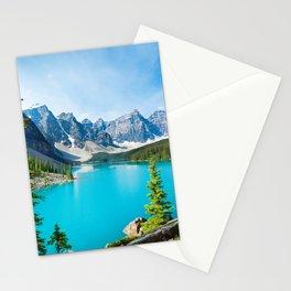 Lake Moraine, Alberta, Canada Stationery Cards