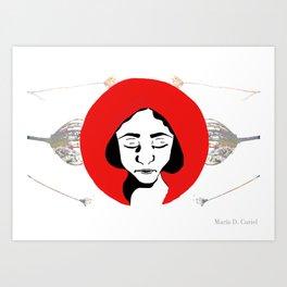 Little Red Riding Hood (2) Art Print
