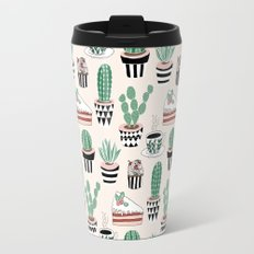 Cacti, Coffee and Cake Travel Mug