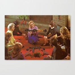 Aunt Daisy's Tea Party Canvas Print