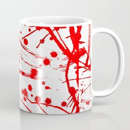 Blood Spatter Coffee Mug