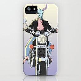 Free Rides iPhone Case