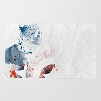 soldier Area & Throw Rugs featuring The Soldier by Arian Noveir