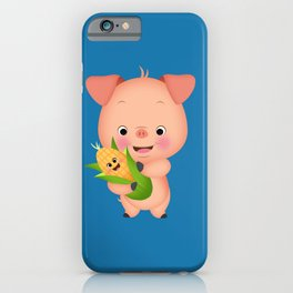 This little piggy iPhone Case