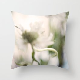 Thistle and Weed Throw Pillow