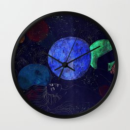 The Universe Dreaming of the Universe Wall Clock