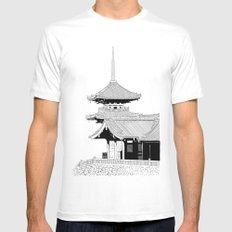 Kyoto - Kyomizudera Mens Fitted Tee White MEDIUM