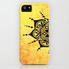 Bright Zen Circles iPhone Case