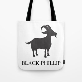 Black Philip II Tote Bag