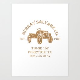Murray Salvage Co. Art Print