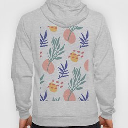 Abstract Plants Pattern  Hoody