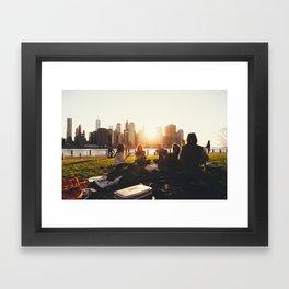 New York 07 Framed Art Print
