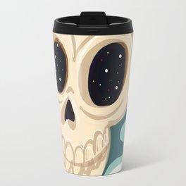 very scary skull Travel Mug