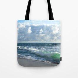 Sea Green Tote Bag