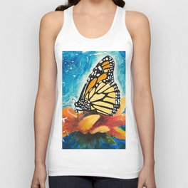 Butterfly - Discreet clarity - by LiliFlore Unisex Tank Top
