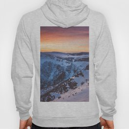 Sunset over the mountains - Landscape and Nature Photography Hoody