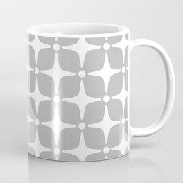 Mid Century Modern Star Pattern Gray 2 Coffee Mug