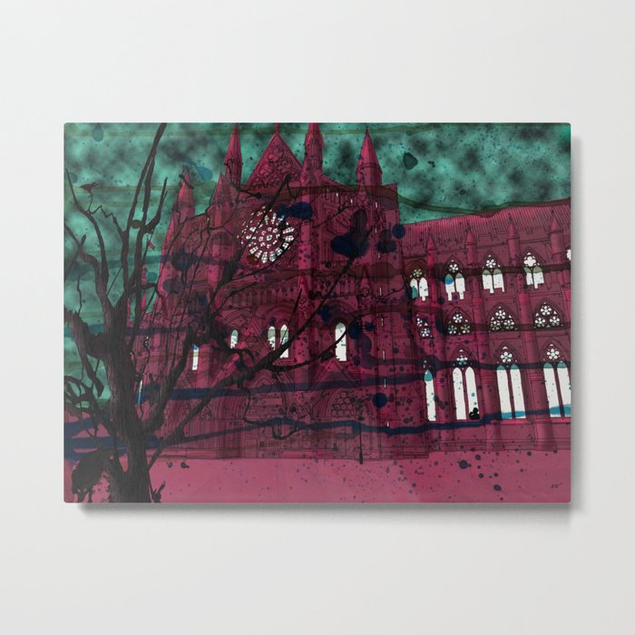 Westminster Abbey Metal Print