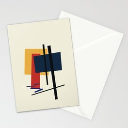 Tribute to K. Malevich (n.1) Stationery Cards