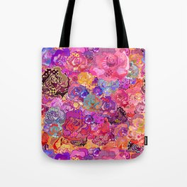 Wallflower in Sunset Tote Bag