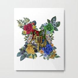 Hogwarts Crest Metal Print