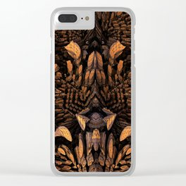 Valhalla Faced Clear iPhone Case