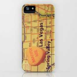 Marry Me Las Vegas iPhone Case