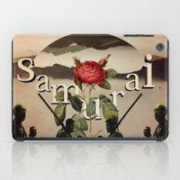 samurai iPad Cases featuring samurai by Rosa Picnic