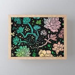 Succulent Supercluster Framed Mini Art Print