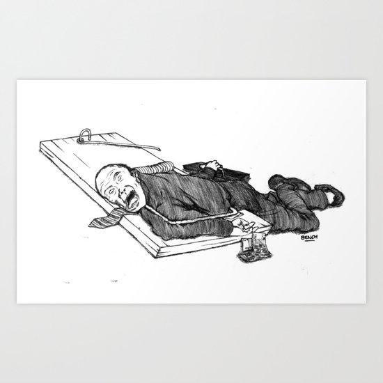 Financier Maitrisé Art Print