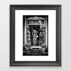 The Florist Shop Framed Art Print