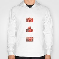 cameras Hoodies featuring Cameras by madelyn bilsborough
