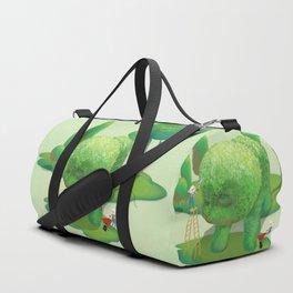 The Topiary Dog Duffle Bag