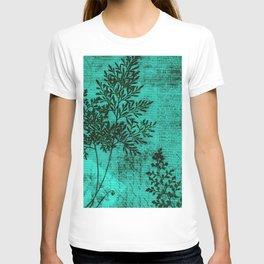 Botanical Turquoise T-shirt