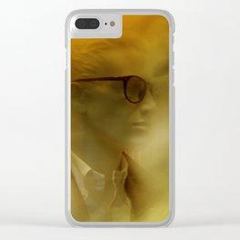 showcased - sepia Clear iPhone Case