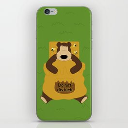 I ♥ honey iPhone Skin