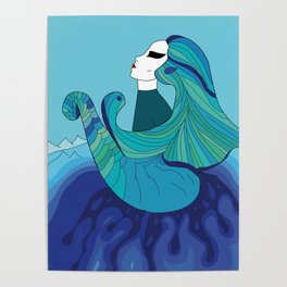 Elements - Water Poster