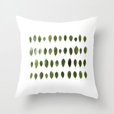 LEAVES COLLECTION Throw Pillow